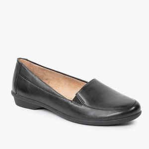 Naturalizer | black Panache leather upper loafers